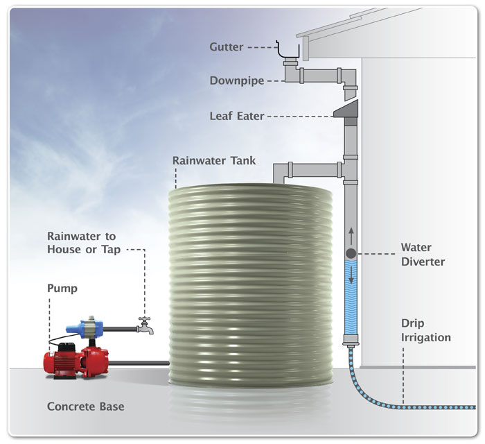 Buyers Guide for Selecting the right Rainwater Tank Pump